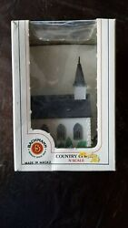 Bachmann Country Church N Scale Train Building Hobby Collectible