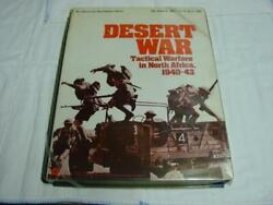 Spi - Desert War - Tactical Warfare In North Africa 1940-43 Tray Unpunched