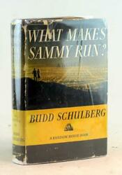 Budd Schulberg Signed 1941 What Makes Sammy Run Hardcover W/dustjacket