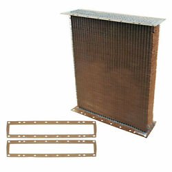 New Aa2235r Styled Radiator Core And Gasket Pair Fits John Deere Tractor A 60 62