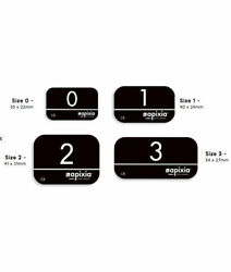 Apixia Original Phosphor Plates For Scanner All Size 0 1 And 2 Usa 4/pk
