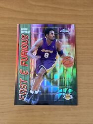 2001-02 Topps Chrome Fast And Furious Refractor Kobe Bryant See Pics And Description