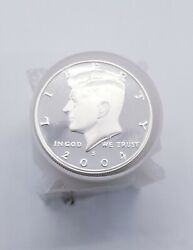 Roll Of 20 Gem Deep Cameo S Mint Proof Kennedys 90 Silver Half Dollars - 2004