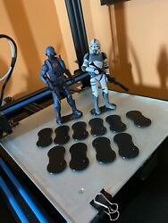 6 Inch Action Figure Stands 10 Per Pack