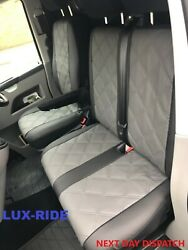 Renault Trafic 2006 - 2014 Artificial Leather Tailored Front Seat Covers