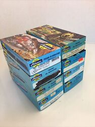 Vintage Lot Of 8 Ho Athearn, Con-cor, Limited Boxes, Nice