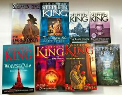 Lot 8 Complete Dark Tower Series Stephen King + Keyhole 6 Trade 2 Mm Exc. Cond.