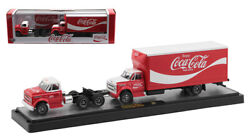 M2 Machines Haulers Coke 1970 Chevy C- Cab And 1970 Chevy C-60 Box Truck