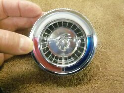 1963 Mercury S-55 Steering Wheel Horn Ring Button, Nos C3my-3623-a