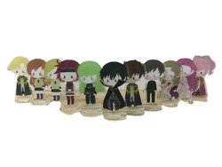 Code Geass Lelouch Of The Rebellion Poster Acrylic Stand Box