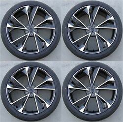 Set4 20 20x9 5x112 +35 Wheels And Tires Pkg Fit Audi Q3 A5 A4 S4 S5 A6 A8 Q5 Rs