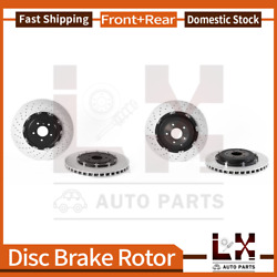 Front And Rear Brembo Oe Equivalent Brake Rotors Set For Gt-r 2012-2018