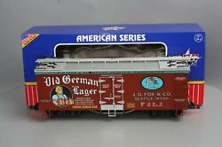 Usa Trains 16430 G Scale Old German Lager Refrigerator Car