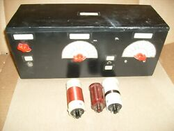 Vintage Diode Crystal Radio Set Model 1 Completed 2004 With Coils