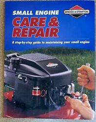 1998 Briggs And Stratton Small Engine Care And Repair Manual