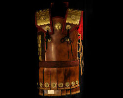 Medieval Ancient Armour Greek Body Armour Dermatothorax Cuirass Breastplate