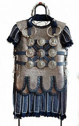 Medieval Ancient Armour Greek Roman Scale Armor Cuirass Phlerea Belt And Subermail