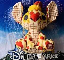 2021 Disney Parks Stitch Crashes Disney Lady And The Tramp Plush New In Hand