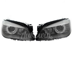 Bmw 7 Series F01 F02 F04 Headlight Xenon Adaptive Right And Left Side Complete Oem