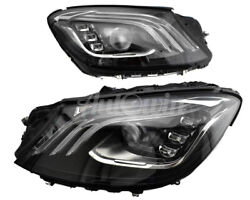 Mercedes Benz S Class W222 Fl Full Led Ir Headlight Right And Left Side Oem New