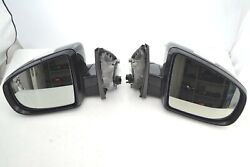 Bmw X5m Series E70 2007-2013 Outside Mirror Glass Auto Dim Right And Left Side