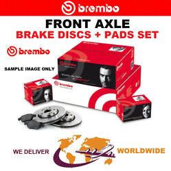 Brembo Front Axle Brake Discs + Brake Pads Set For Opel Astra Gtc J 2.0 2012-on