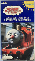 Thomas Tank Engine And Friends James Goes Buzz Buzzvhs 1991like New-rare-ship24h