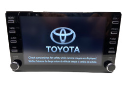 19 20 21 Toyota Rav4 Oem Am-fm Radio Touch-screen Entune 3.0 Apple Carplay Rav-4