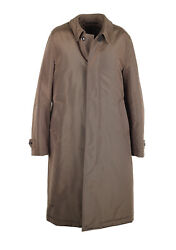 New Tom Ford Taupe Rain Coat Size 48 / 38r U.s. Outerwear Jacket
