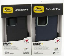 Otterbox Defender Pro Series Case W/ Holster For Samsung Galaxy S21 Ultra 5g