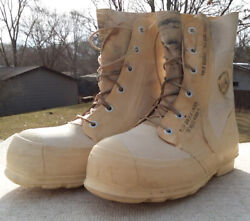 Usgi Military White Mickey Mouse Extreme Cold Insulated Winter Boots Size 9r