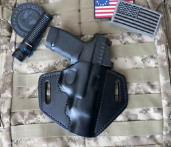 Fits Springfield Hellcat Rdp Holster Rapid Defense Package Leather Pancake