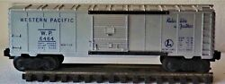 1953 - Lionel W.p. 6464 Box Car Ex, W / Box And Inspection Certificate
