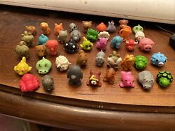 Lot Of 43 Squishys Various Kinds Sea Zoo Forest Animals Farm Regular