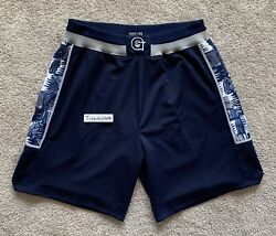 New Mitchell And Ness Georgetown Hoyas 1995-96 Authentic Shorts Iverson Medium 40