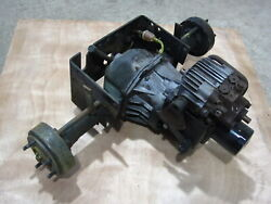 John Deere 317 Garden Tractor Transmission Transaxle Rear Differential Assembly