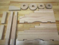 Cannon Carriage Naval Kit Oak For 20 To 25 Black Powder Barrel