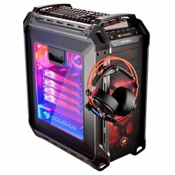 Cougar Panzer Max Ultimate Full Tower Gaming Case Headset Not Included
