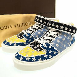 Louis Vuitton Monogram Star Menand039s Sneakers Lv 8 Shoes Acapulco Canvas High Cut