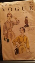 Five Vintage Sewing Patterns --- Vogue 7934 – 8368– 8025 –7912 And Advance 6410