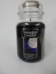 Yankee Candle Large Jar Scented Candle 22oz Midsummer Night NEW
