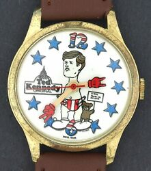 Vintage 1970's Wind-up Ted Kennedy As Baby Political Satire Character Watch