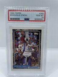 1992 Topps Shaquille Oand039neal 362 Basketball Card
