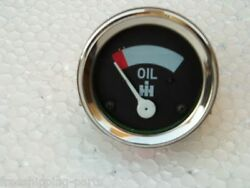 Ih / Farmall Tractor Oil Pressure Gauge Fits In Female Thread Connection