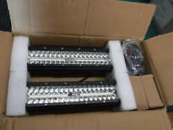 12 Inch Led Light Pods, 2pcs 300w Off Road Driving Led Light Bar With 12ft Wirin