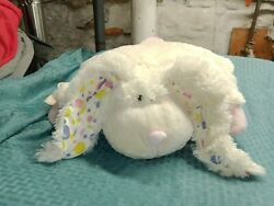 Pillow Pets Large White Bunny with Long Floppy Ears