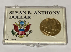 1979 Susan B Anthony Gold Plated Dollar Coin