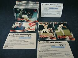 Coca-cola Sprint And03996 Complete 48 Phone Cards Set Unused 2 Phone Cards Mint Rare
