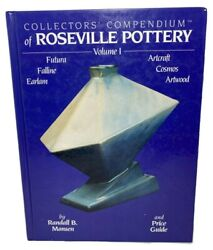 Collector's Compendium Of Roseville Pottery Volume1 1995 Hardcover Price Guide