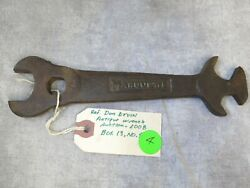 Vintage Wrench Marquette Gw3203 7-3/4 Iron Wrench Multi-torch Tank Wrench